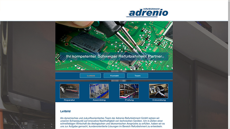 Adrenio Refurbishment